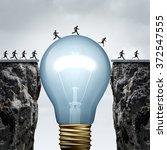 creativity business idea... | Shutterstock . vector #372547555