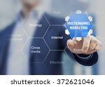 presentation of multichannel... | Shutterstock . vector #372621046