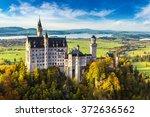 Neuschwanstein Castle In A...