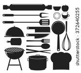 kitchenware vector illustration | Shutterstock .eps vector #372640255