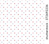 seamless retro pattern with... | Shutterstock .eps vector #372692236