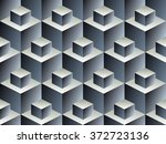abstract geometric isometric... | Shutterstock .eps vector #372723136