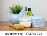 bath accessories. personal... | Shutterstock . vector #372733726