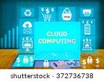 technology and biz concept.... | Shutterstock . vector #372736738
