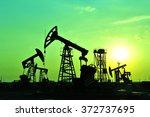 the oil pump     Shutterstock . vector #372737695