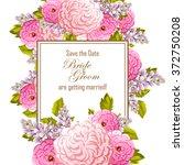 vintage delicate invitation... | Shutterstock .eps vector #372750208