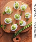 Deviled Eggs Appetizer With...