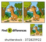 find differences  education... | Shutterstock .eps vector #372825922