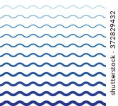 wave blue pattern. wave... | Shutterstock .eps vector #372829432