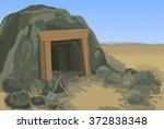 Old Mine Desert Landscape...