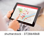 person looking for places to... | Shutterstock . vector #372864868