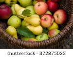 Fruit Basket Apples Pears