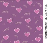 valentine pattern    Shutterstock .eps vector #372875716