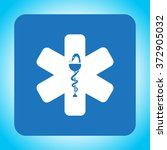 medical  ambulance  icon | Shutterstock .eps vector #372905032