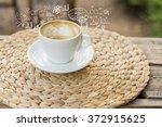 coffee cup idea | Shutterstock . vector #372915625