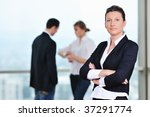 business people group together... | Shutterstock . vector #37291774