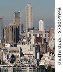 skyscrapers of ikebukuro | Shutterstock . vector #373014946