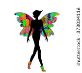 Women Elegant Silhouette In Th...