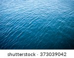 Blue Sea Water Surface As...