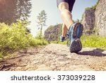outdoor cross country running... | Shutterstock . vector #373039228