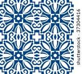 floral pattern   Shutterstock .eps vector #37304416
