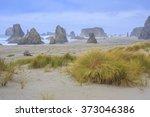Bandon Beach Oregon  Usa