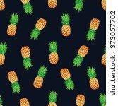 tropical trendy seamless... | Shutterstock .eps vector #373057702