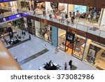 shopping center dubai mall  top ... | Shutterstock . vector #373082986
