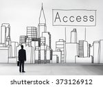 access control entry password... | Shutterstock . vector #373126912