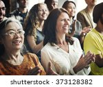 people audience diversity group ... | Shutterstock . vector #373128382