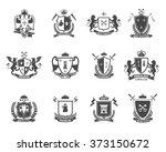 heraldic premium quality...   Shutterstock . vector #373150672