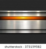 background  polished metal... | Shutterstock .eps vector #373159582