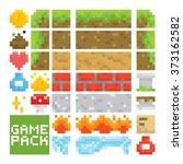 Pixel Art Style Game Level...