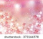 cherry blossom background   Shutterstock .eps vector #373166578