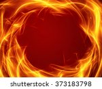 Abstract Fire Background With...