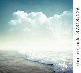 nature tropic background in... | Shutterstock . vector #373185526