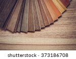small color sample boards.... | Shutterstock . vector #373186708