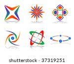colourful and abstract vector... | Shutterstock .eps vector #37319251