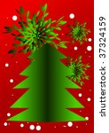 christmas ornament  space for... | Shutterstock .eps vector #37324159