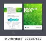 abstract business brochure ... | Shutterstock .eps vector #373257682