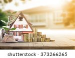 mortgage loading real estate... | Shutterstock . vector #373266265