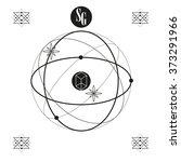 sacred geometry. logo. vector | Shutterstock .eps vector #373291966