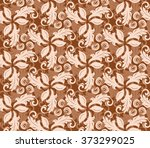 Floral Vector Colored Ornament. ...