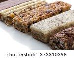 a variety of muesli bars   Shutterstock . vector #373310398