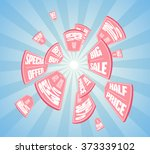 vector illustration with... | Shutterstock .eps vector #373339102