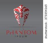 carnival mask design element.... | Shutterstock .eps vector #373354165