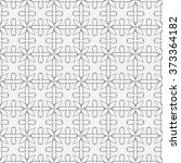 seamless linear pattern with... | Shutterstock .eps vector #373364182