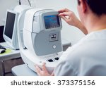 ophthalmic equipment. medical... | Shutterstock . vector #373375156