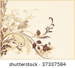 abstract floral background. all ... | Shutterstock .eps vector #37337584