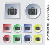 travel bag icon   Shutterstock .eps vector #373394338